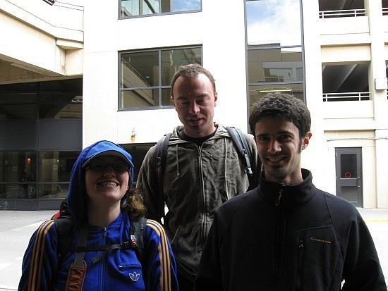 Me, Ryan, Sylvain