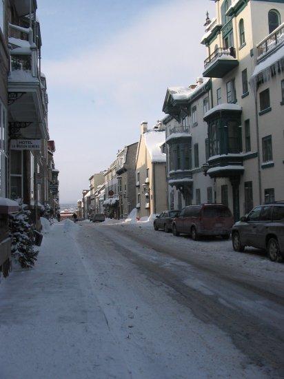 Street in Quebec