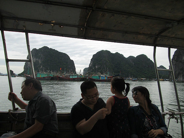 Ferry to Quan Lan
