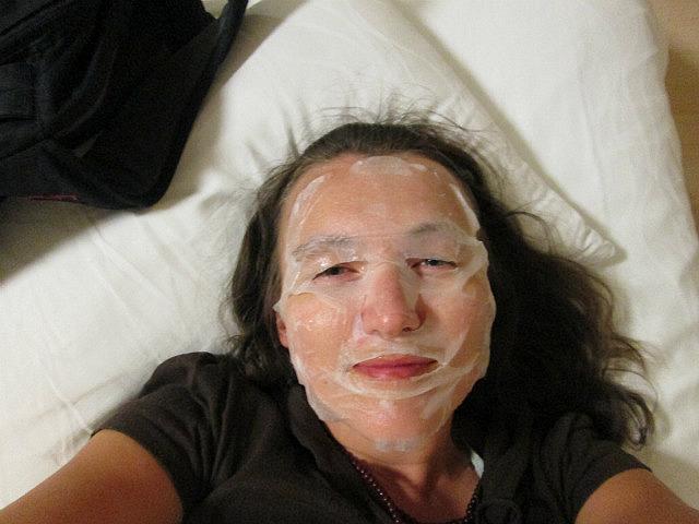 I did a facial
