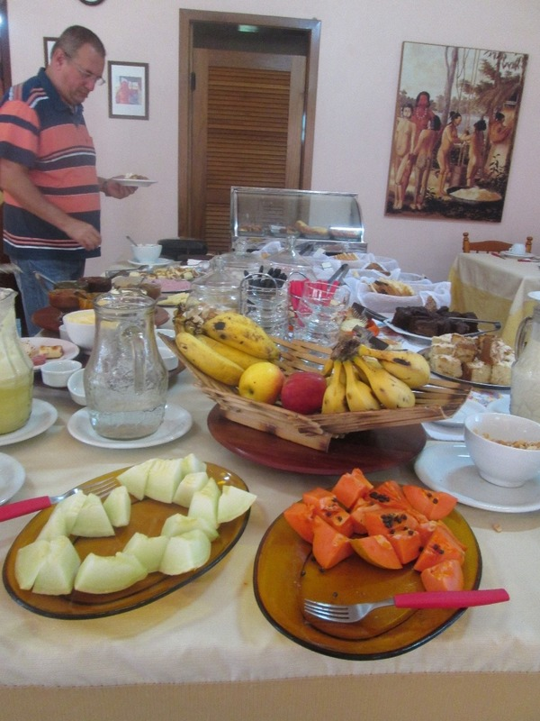 Breakfast at Sao Miguel dos Missoes