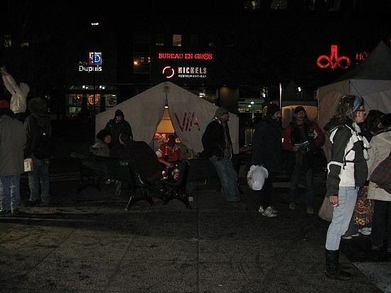 Homeless people
