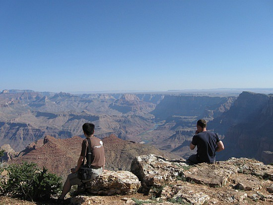 Adam and Ryan vs. the Grand Canyon