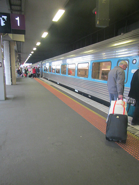 The train to Sydney