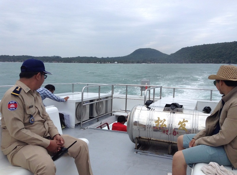 boat to Koh Rong