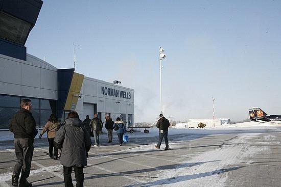 Norman Wells airport