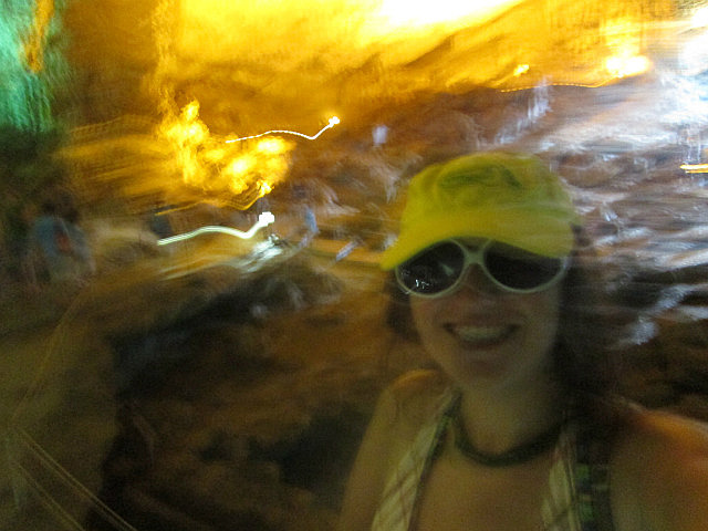 Me in the cave