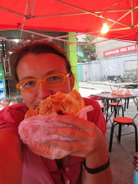 me vs. naan sandwich