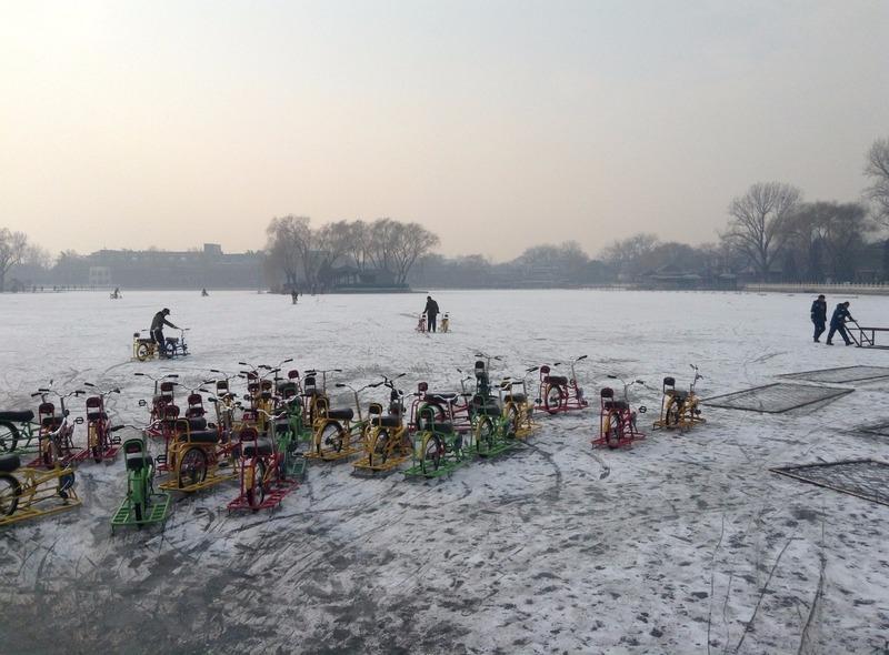 Ski bikes?