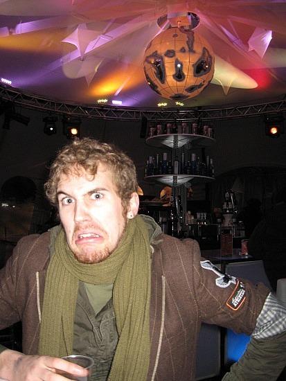 Isaac is angry at Bar d'Hiver
