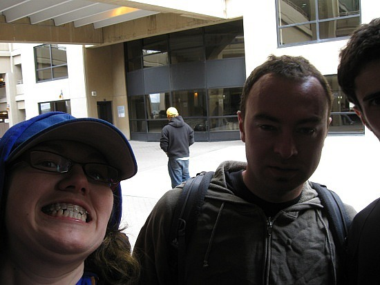 Me and Ryan at the Calgary airport