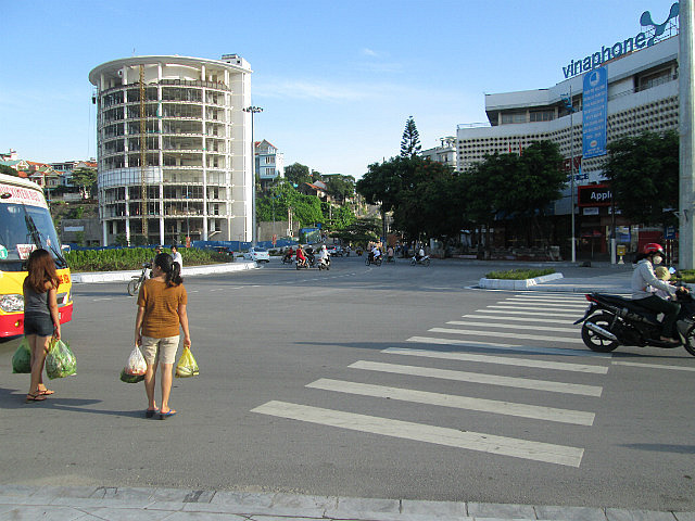 First roundabout
