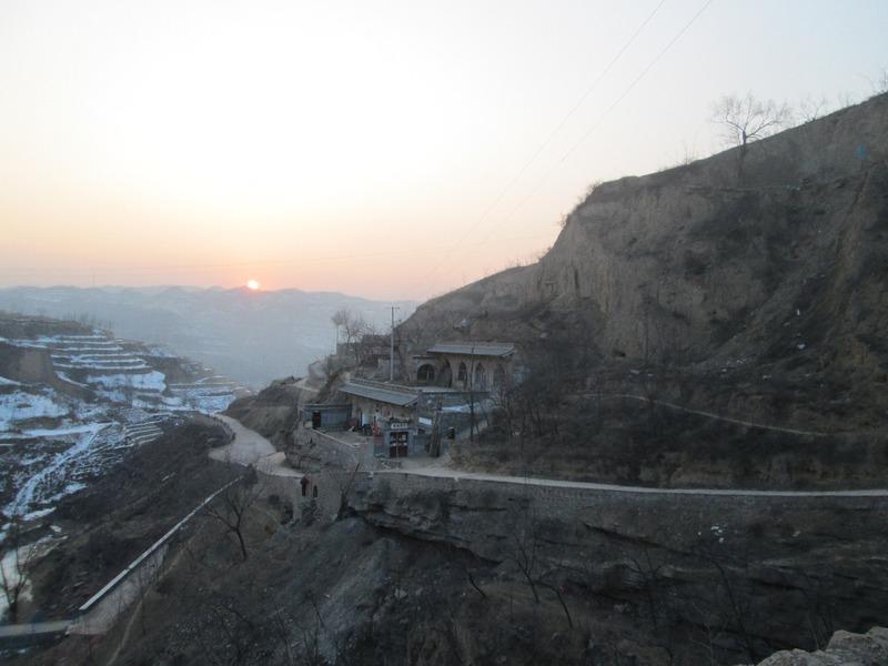 Lijiashan sunset
