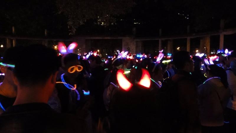 So many glow sticks
