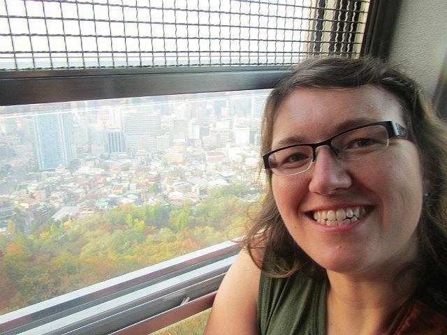 Me vs. Seoul tower