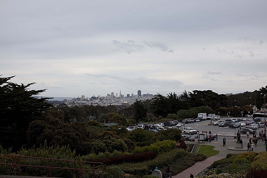 SF from the bridge