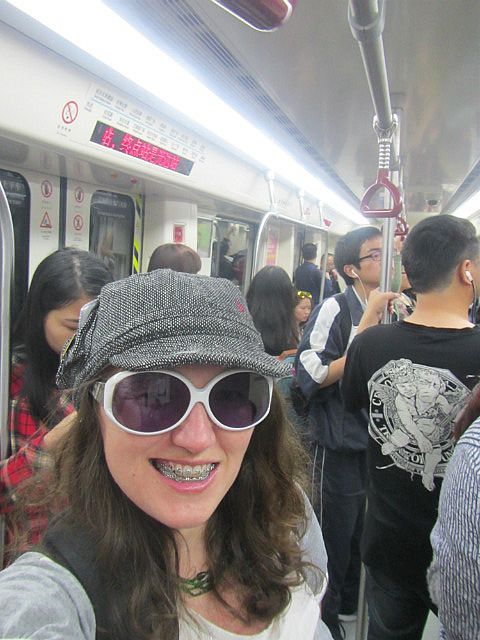Me on the subway