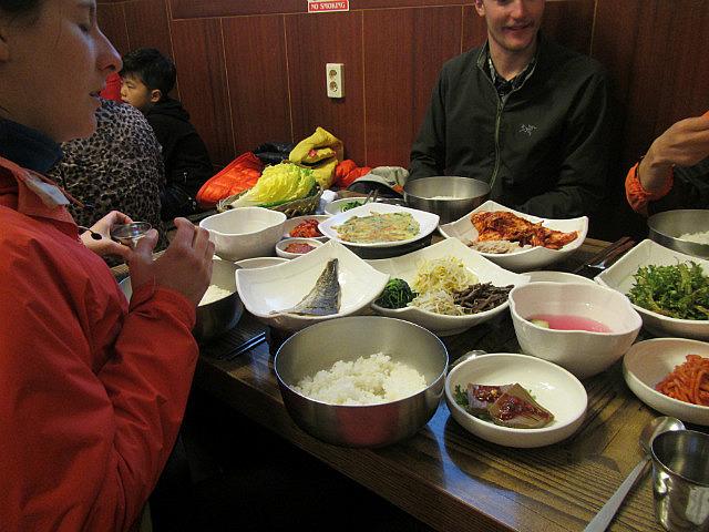 Dinner with Mr. Bak, Stephanie and Mackenzie