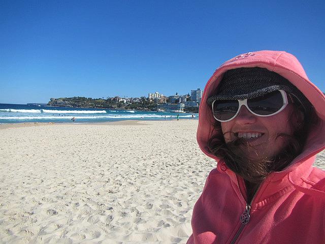 Me on Bondi beach again