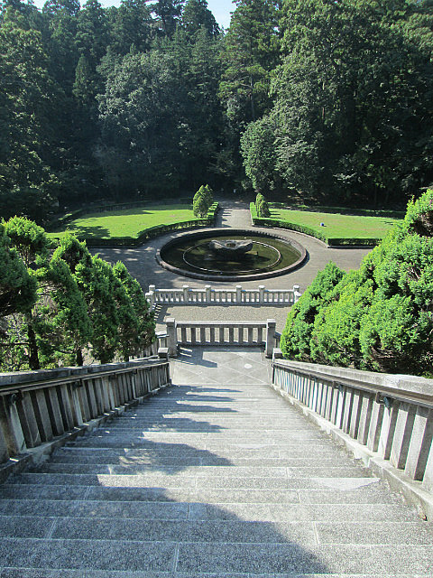 Shinshoji Temple garden