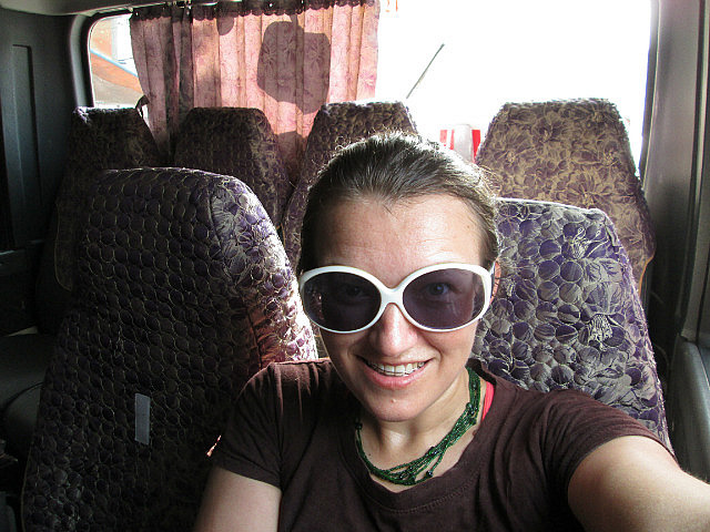 On the bus to Haiphong
