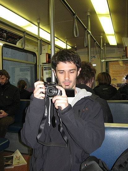 Sylvain on the C Train