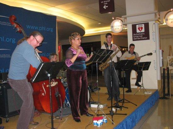 Jazz band at PHL