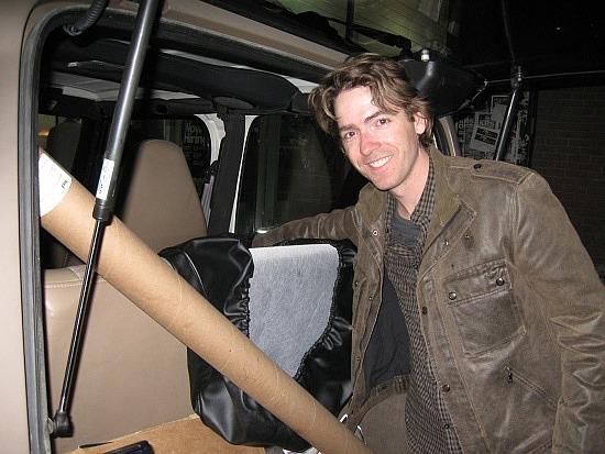 Sean's trunk