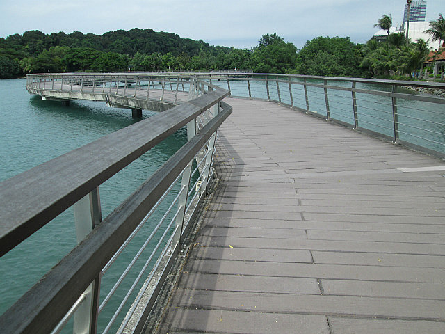 Keppel Bay boardwalk