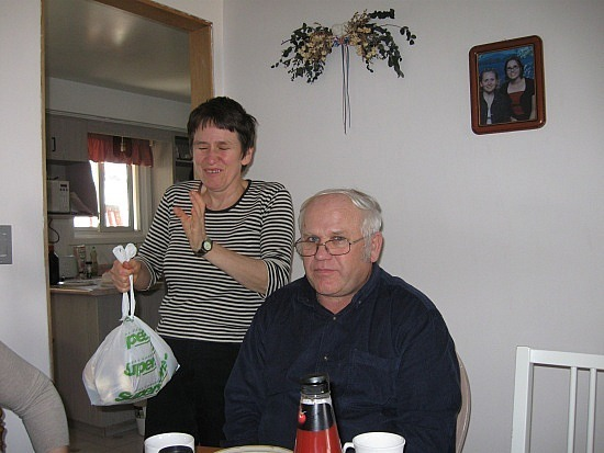 Justyna's parents