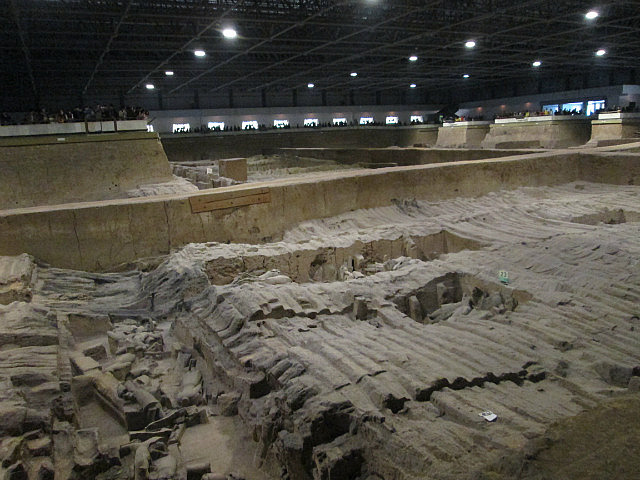 Terracotta warriors pit 2