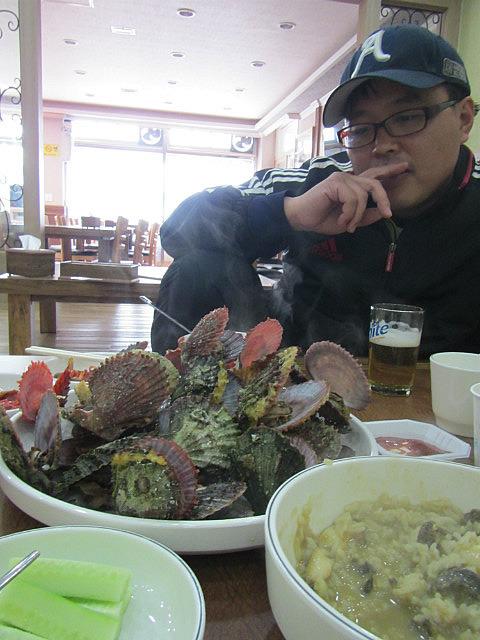Yun Gil vs. scallops