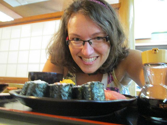 Me vs. sushi