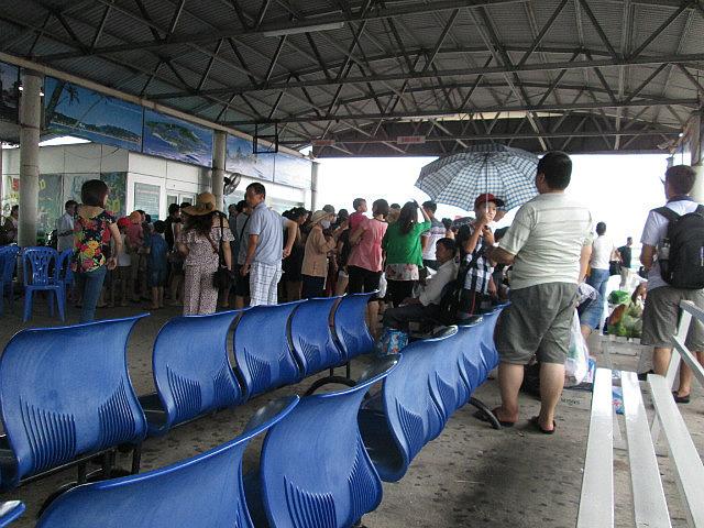 Tuan Chau ferry terminal