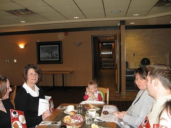 Aunt Diane, Emily, Michelle, Tim