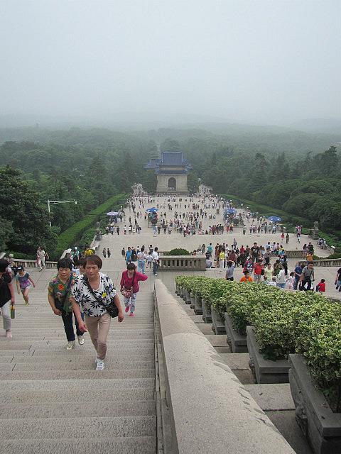 Sun Yat Sen's tomb