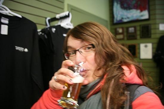 Me vs. Yukon Brewery beer