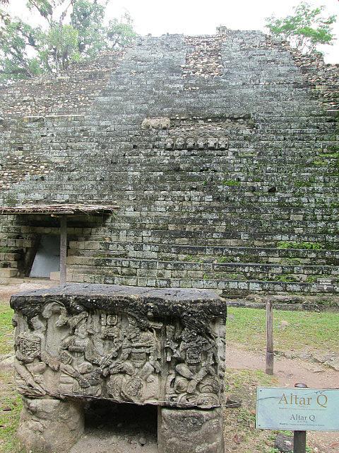 Intricate altar