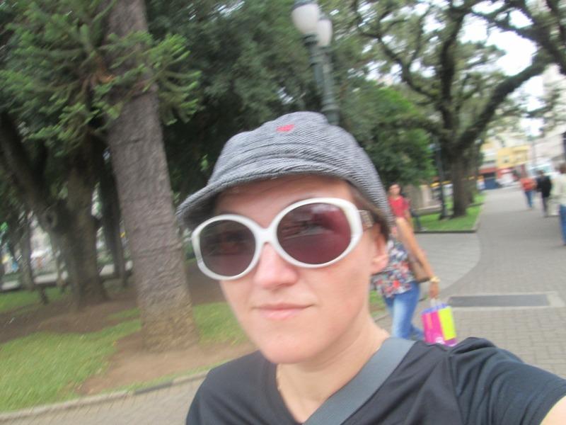 Me at Praca Tiradente