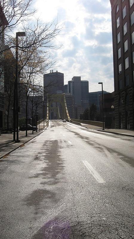 A bridge in Pittsburgh