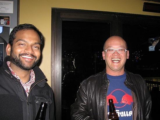 Arunan and Ray at BBT