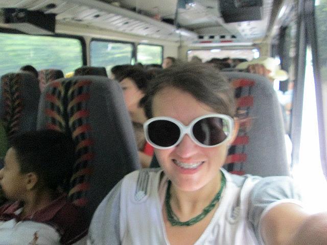 On the bus to Gracias