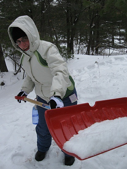 Shovel LOTS of snow