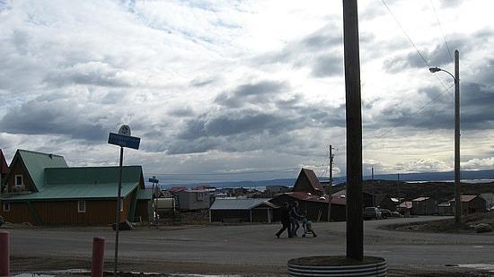 A street in Iqaluit