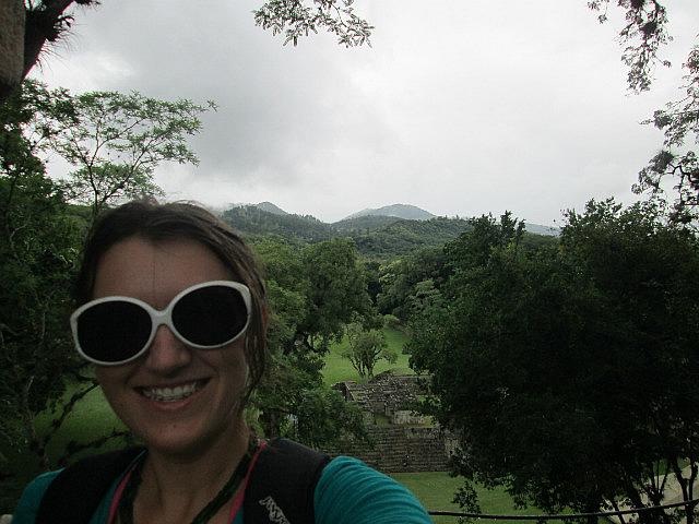 Me vs. Mayan ruins