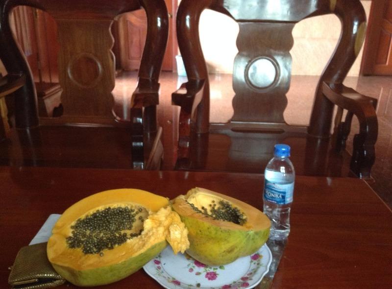 Papaya dinner