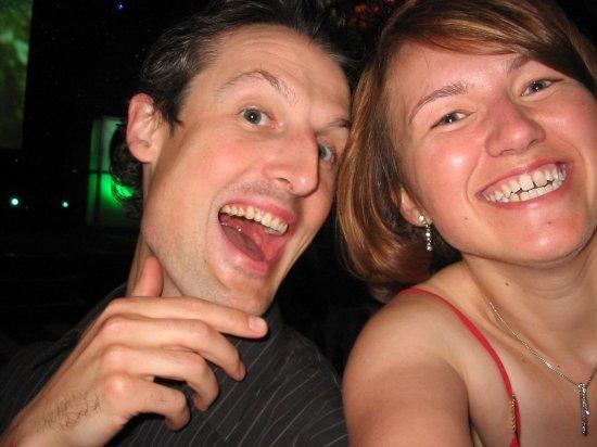 Me and Darren (former Sun colleague)