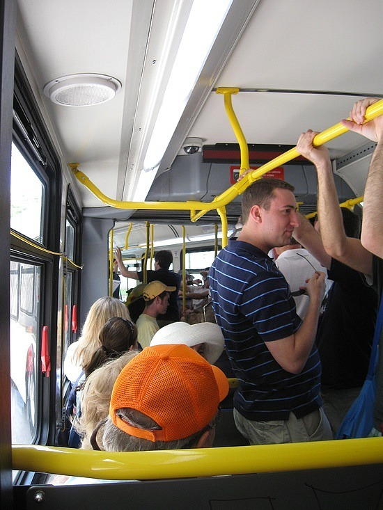 The bus is full