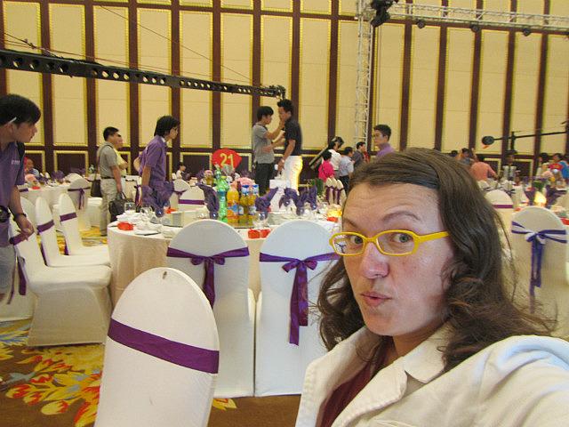 Me at wedding