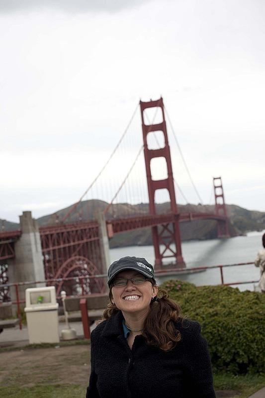 I'm a tourist!